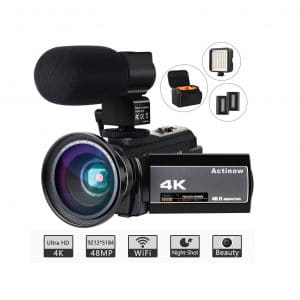Actinow 4K HD Video 48MP Camera