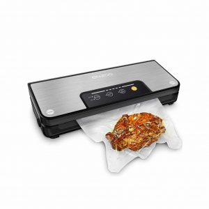 ENZOO Vacuum Sealer Machine with Built-In Cutter