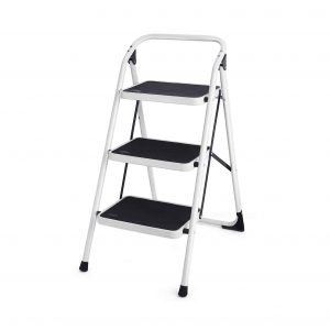 Goplus 3 Step Ladder Folding Step Stool