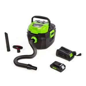 Greenworks 24V Cordless Wet and Dry Vacuum