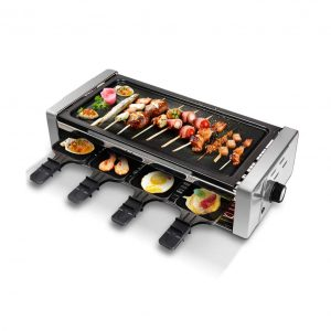 HUIDANGJIA Electric Smokeless Grill and Hot Pot