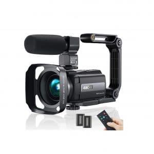 MELCAM Video Camera Camcorder 4K 48 MP