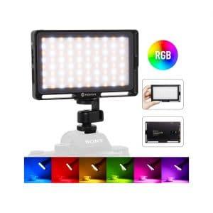 Moman RGB Light for DSLR, LED Video Light