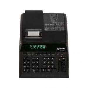 Monroe Top of The Line UltimateX 12-Digit Printing Calculator