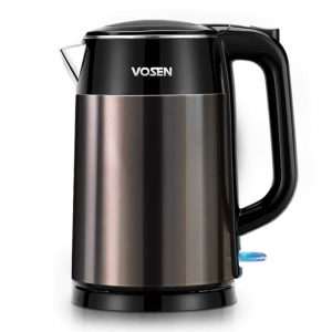 VOSEN 1.7L Double-Wall Electric Kettle 1500W