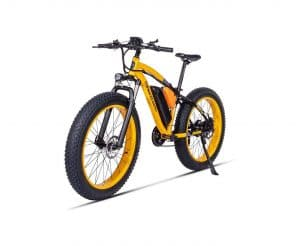 SYLTL Electric Mountain Bike with Lithium-Ion Battery