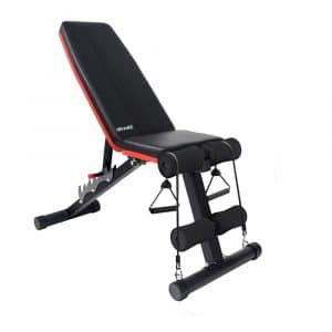 ATIVAFIT Adjustable Weight Bench for Home Gym