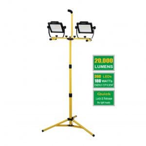 DAYATECH 180W Dual-Head LED Work Light