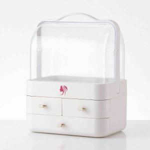 KWELLK Clear Cosmetic Storage Organizer