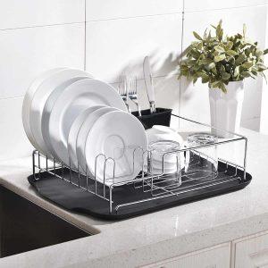 SOTTAE Kitchen Draining Dish Drying Rack