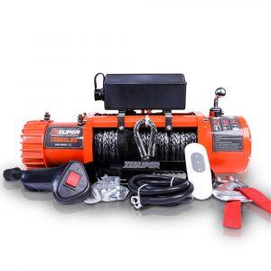 ZESUPER Electric Waterproof IP67 13000-lb Load Capacity Winch Kit