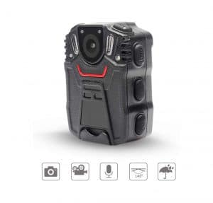 Moocor Police Body Camera for Law Enforcers, IP56 Waterproof