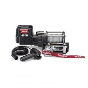 WARN 94000 4,000 lbs. Capacity Electric Winch