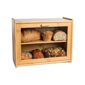 LAURA'S Green Kitchen Large Bread Box