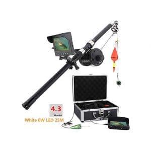 ZGYQGOO Aluminum Alloy Underwater Fishing Video Camera