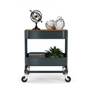 PUNP Utility Storage Shelves Rolling Cart