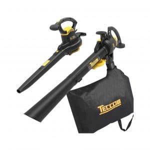 TECCPO 3-In-1 Leaf Blower 12-Amp Vacuum