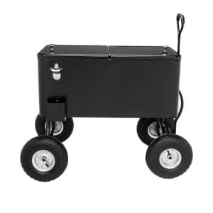 VINGLI 80-Quartz Wagon Rolling Wheeled Cooler