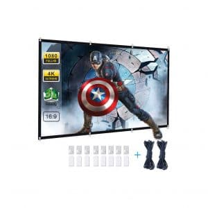 Powerextra 120-inches HD Foldable Outdoor Movie Screen