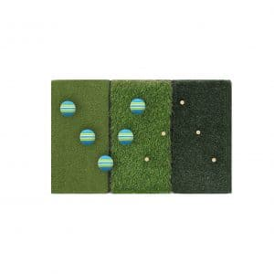 Running Raccoon Tri-Turf Golf Hitting Mat