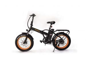SOHOO 48V500W12AH Folding Electric Bicycle with Removable Battery