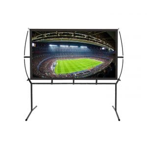 Blina Portable Projector Outdoor Screen with Stand