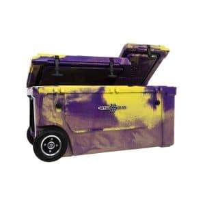 WYLD 75-Quartz Dual-Compartment Insulated Wheeled Cooler
