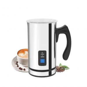 Bigzzia Electric Stainless Steel Milk Frother