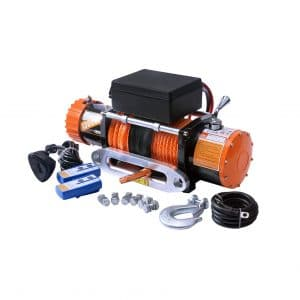 ORCISH 13000lb 12V Electric Winch with IP67 Waterproof Synthetic Rope