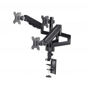 TechOrbits Triple Monitor Arm Mount