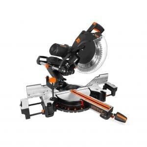 WEN Dual-Bevel Sliding Compound Miter Saw with Laser
