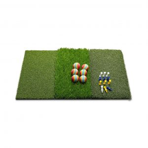 Wosofe Golf Mat Chipping Hitting 25 x 16 Inches