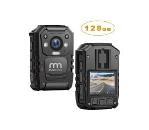 CammPro 1296P HD Police Body Camera with 2″ Display, Personal Use