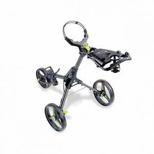 Cleverwolf Professional Golf Cart 4 Wheel Foldable Trolley
