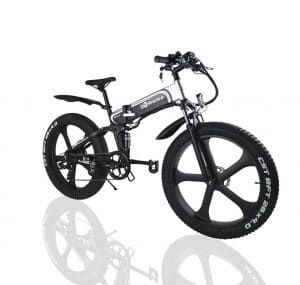 W Wallke Foldable Aluminum Electric Bike
