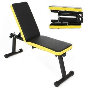 soges Folding Dumbbell Bench 660 lbs. Weight Capacity, PSBB003