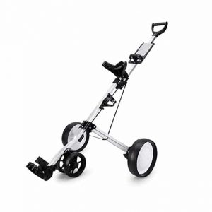 ANJING 3 Wheel Golf Push Foldable Lightweight Cart