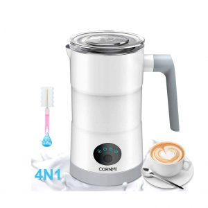CORNMI Electric Milk Frother and Warmer