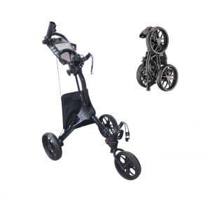 Hoveroid Foldable 3 Wheel 4 Wheel Golf Push Cart