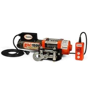 Keeper KAC1500 110:120V 1500 lb. Capacity Electric Winch