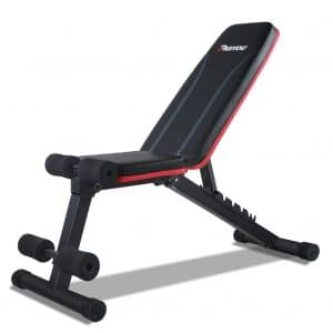 PASYOU Adjustable Weight Bench for Home Gym
