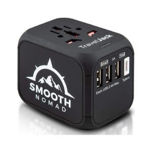 Smooth Nomad International Travel Adapter