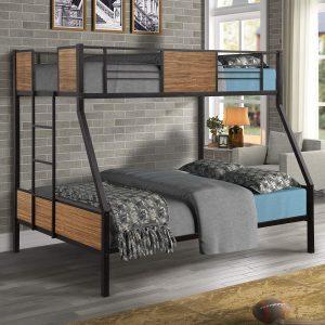 Danxee Twin-Over-Full Loft Bed
