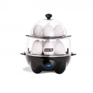 Dash DEC012BK Electric Deluxe Egg Cooker