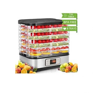 Homdox Food Dehydrator Machine 400W BPA-Free
