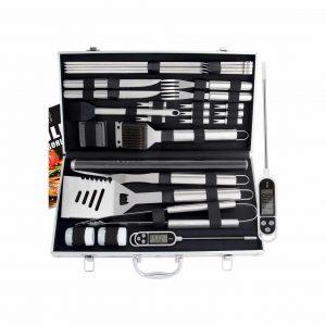 ROMANTICIST 27-Pieces BBQ Tool Set