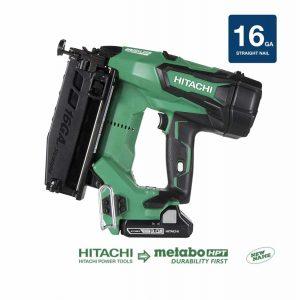 Metabo HPT Hitachi NT1865DM 18V 16 Gauge electric Straight Finish Nail gun
