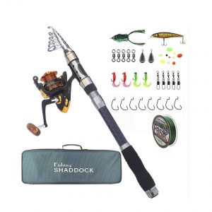 Shaddock Fishing Spinning Rod and Reel Combo