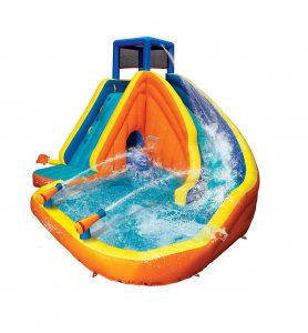 BANZAI Sidewinder Falls Inflatable Pool