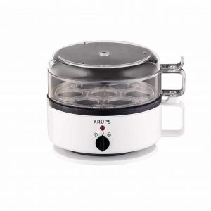 KRUPS F23070 7-Eggs capacity Egg Cooker w: Water Level Indicator